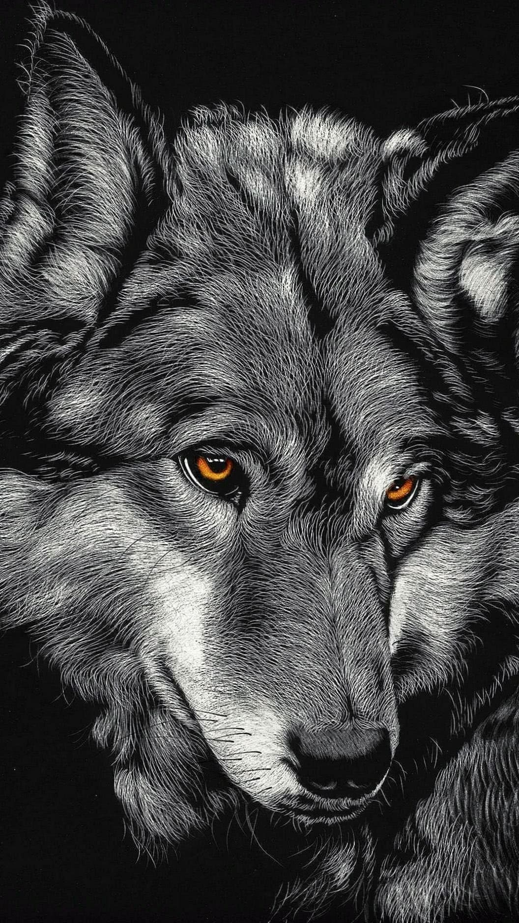 Wolf Wallpaper For iPhone X