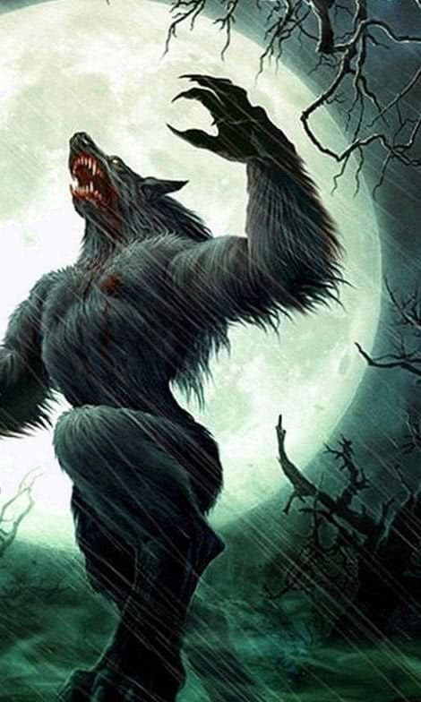 Werewolf iPad Wallpaper