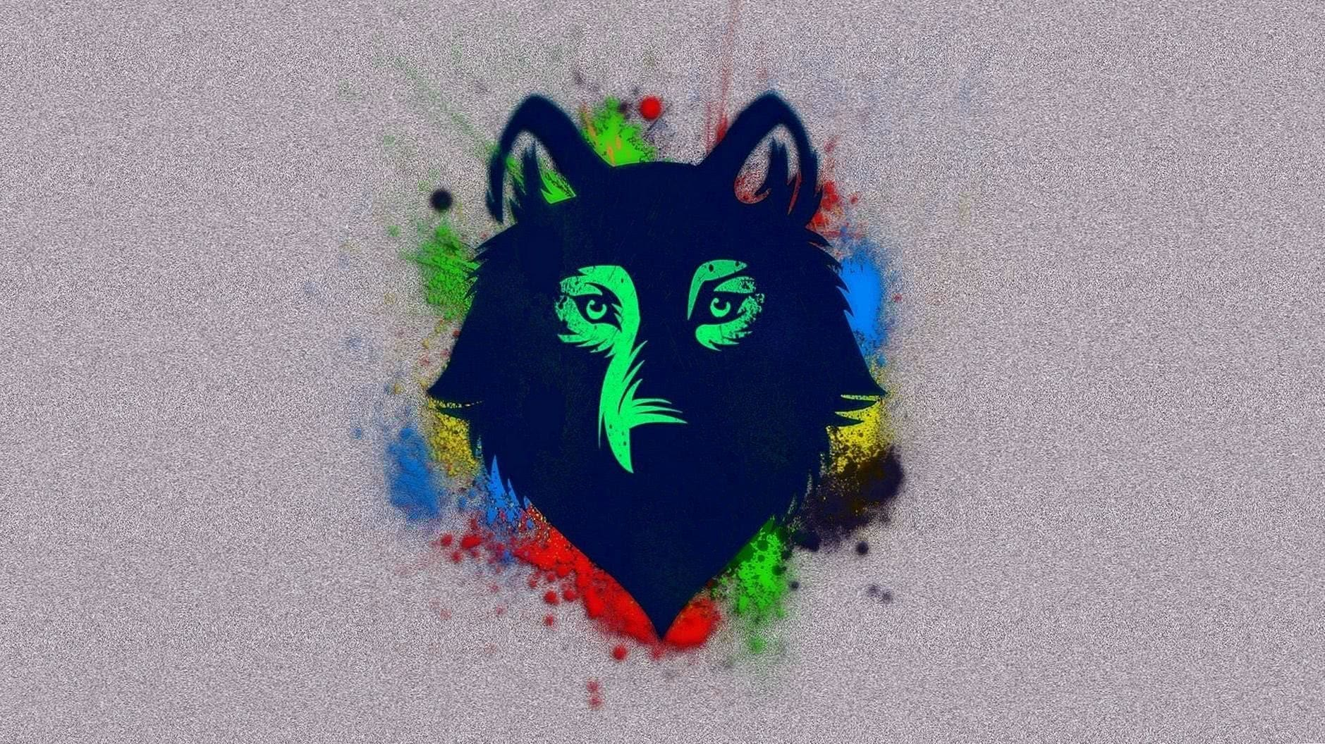HD Wolf Drawing Wallpapers