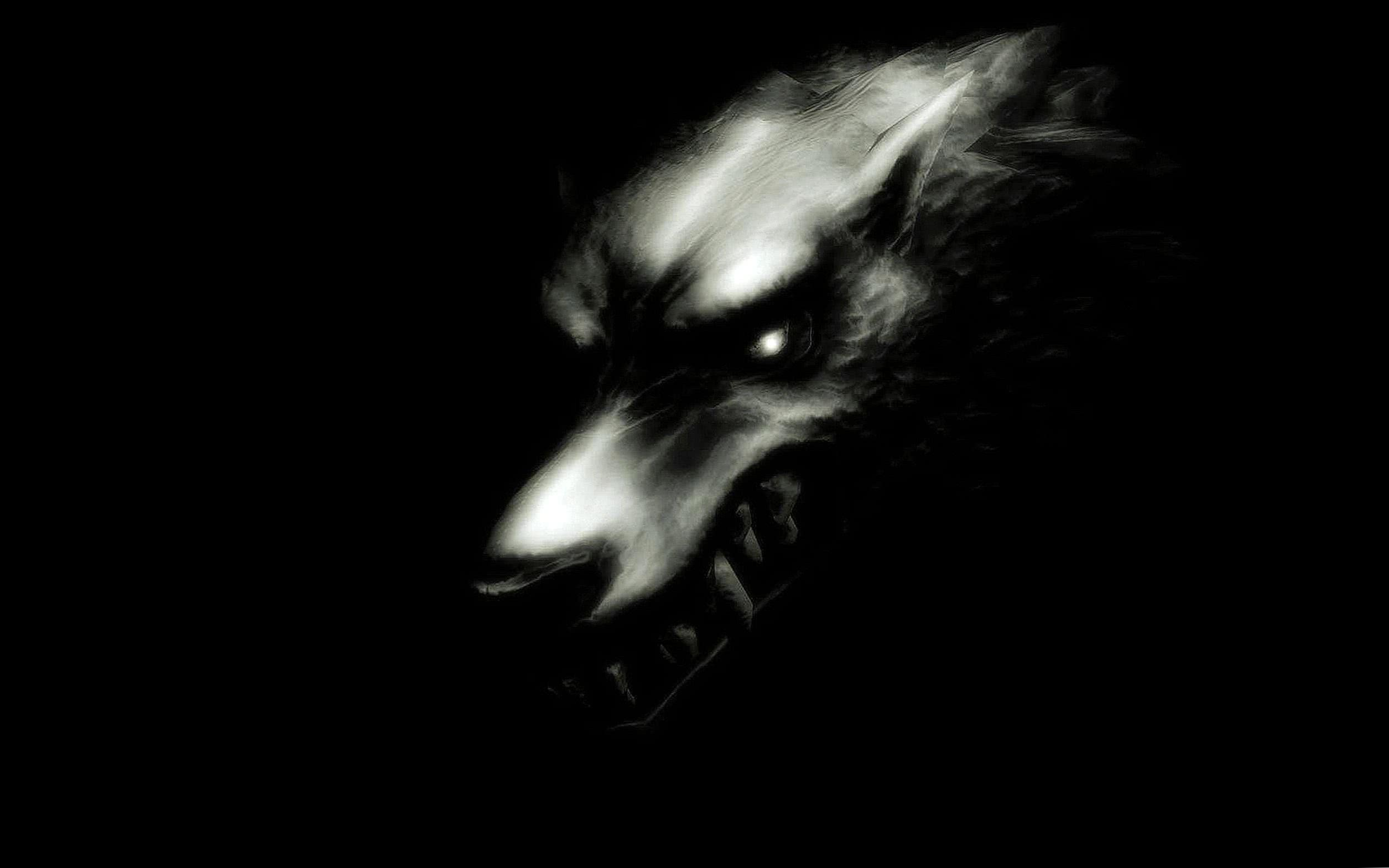Evil Wolf Full HD Wallpaper