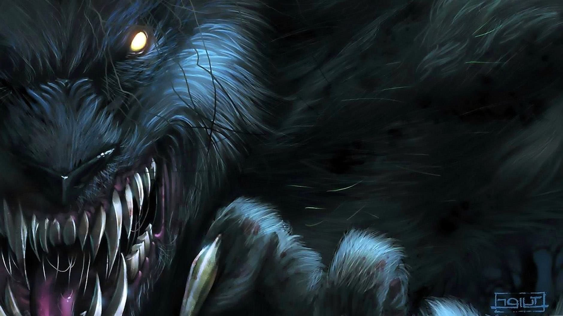 Wallpaper Of A Werewolf