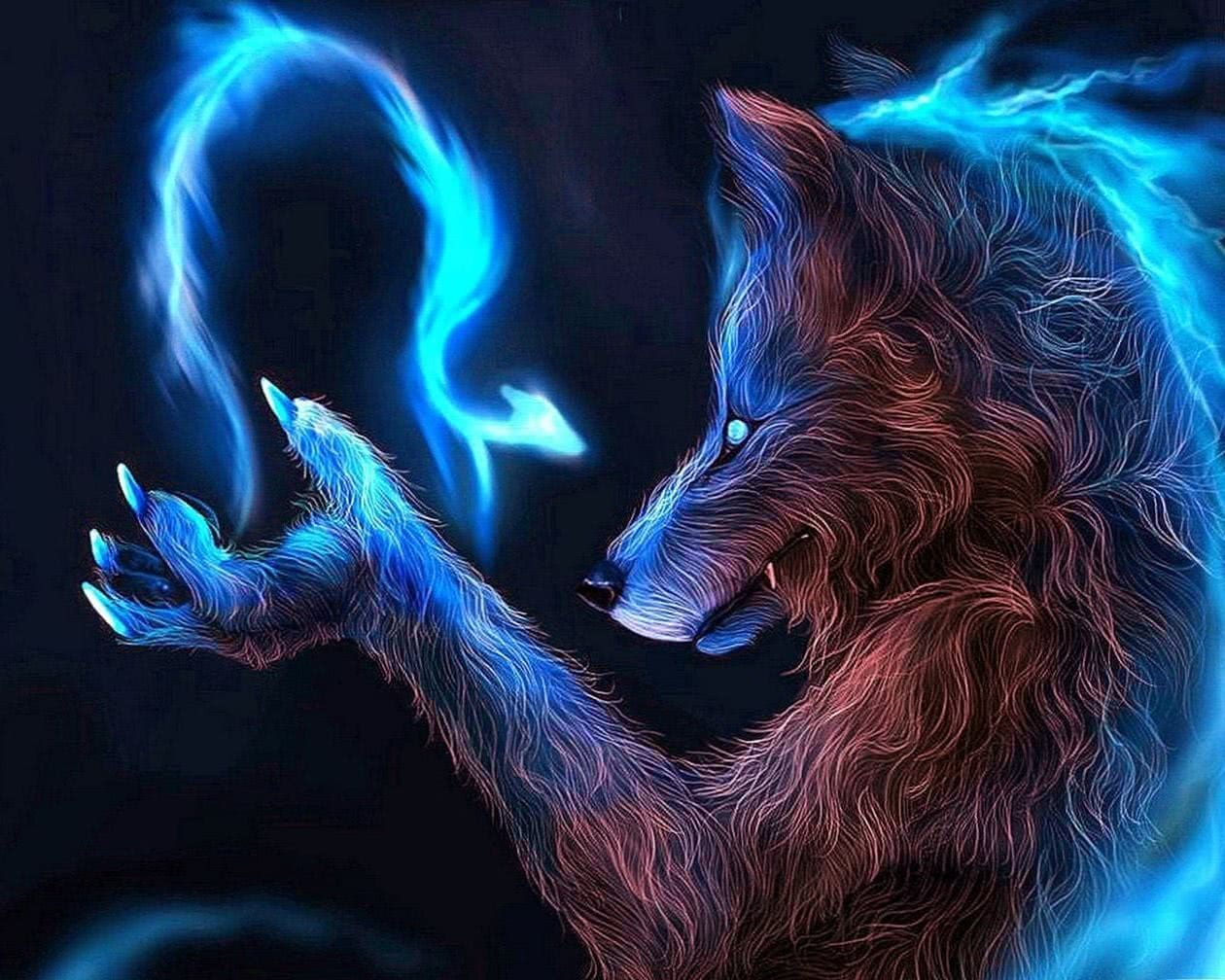 Wolf Magic Begin Now Wallpapers