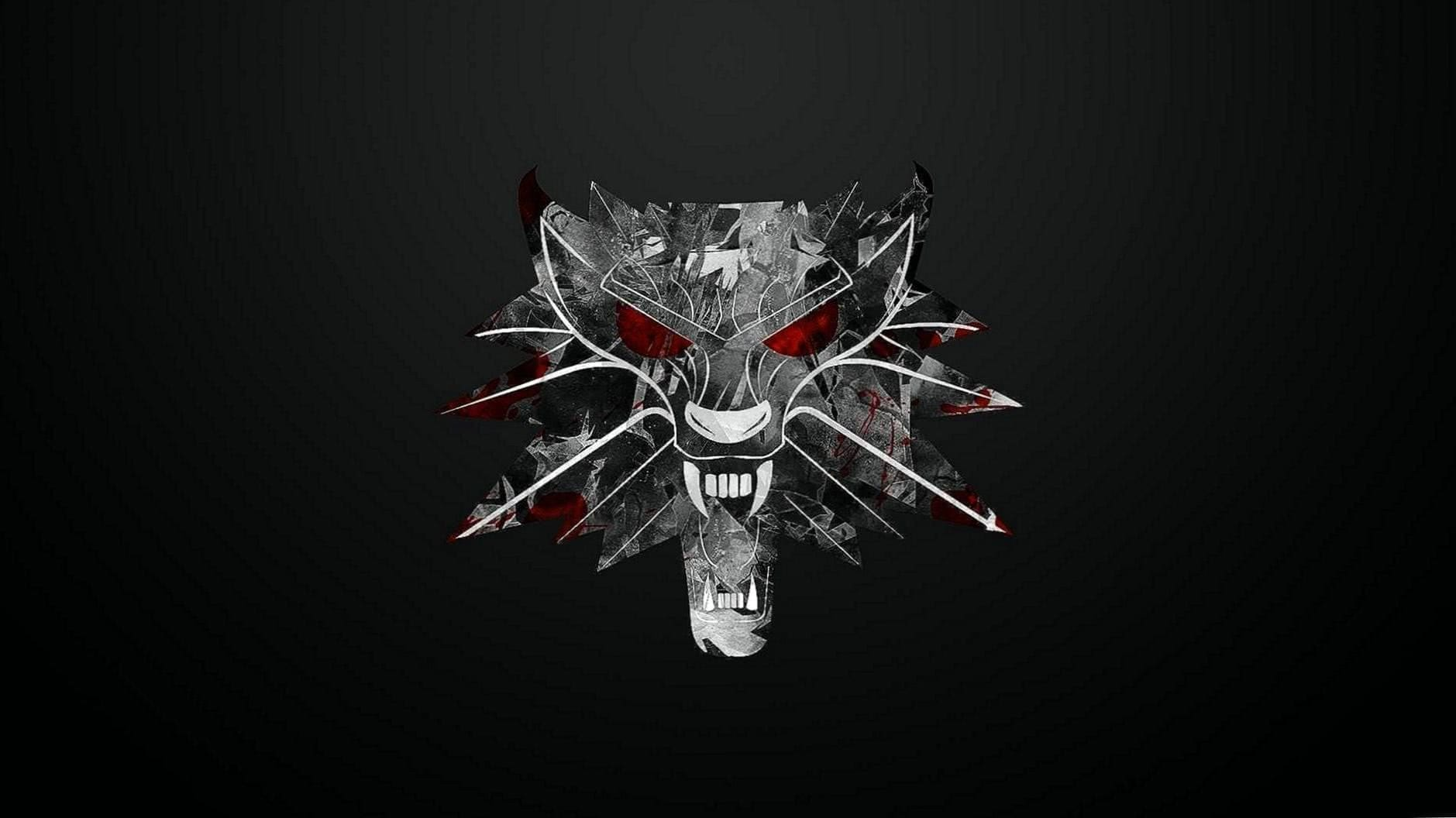The Witcher 3 Wolf Medallion Wallpaper