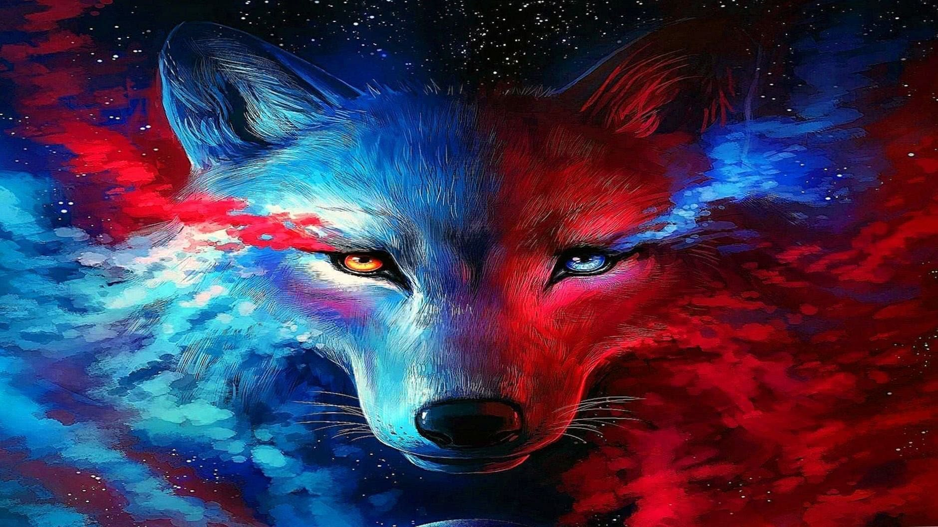 Galaxy Wolf Wallpapers HD