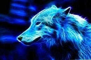 Wolves Wallpapers Blue