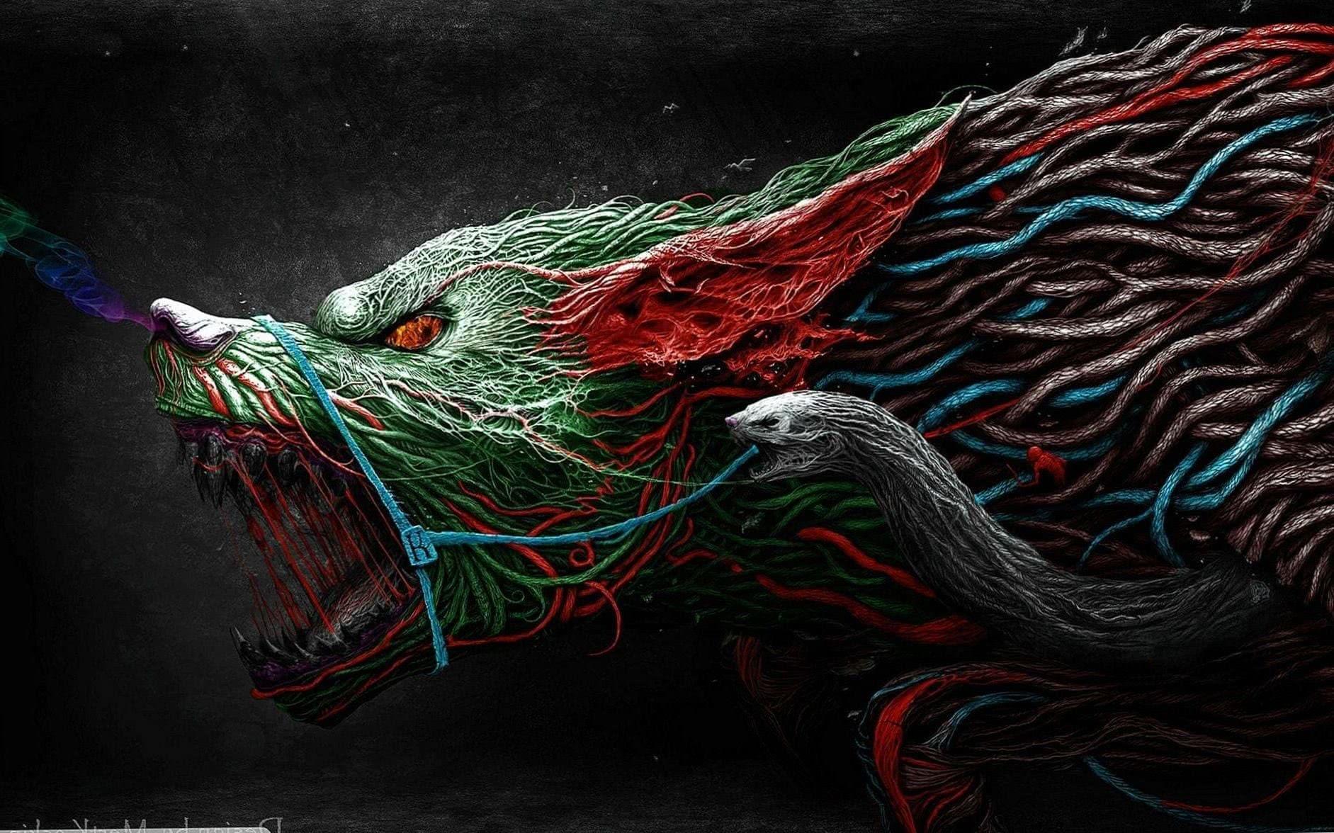 Wallpaper Wide Werewolf