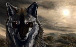Wolf Black Animated Wallpapers