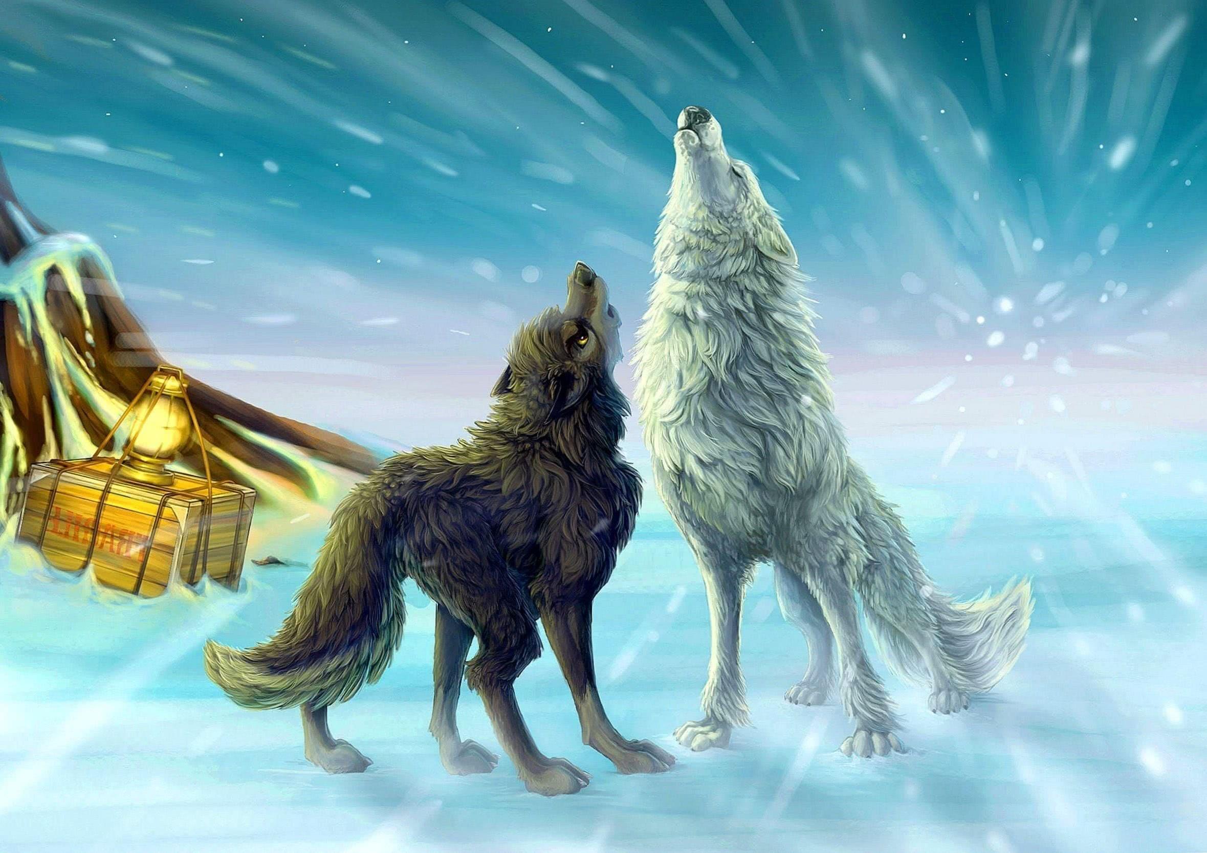 Anime Wolf Wallpaper Full HD