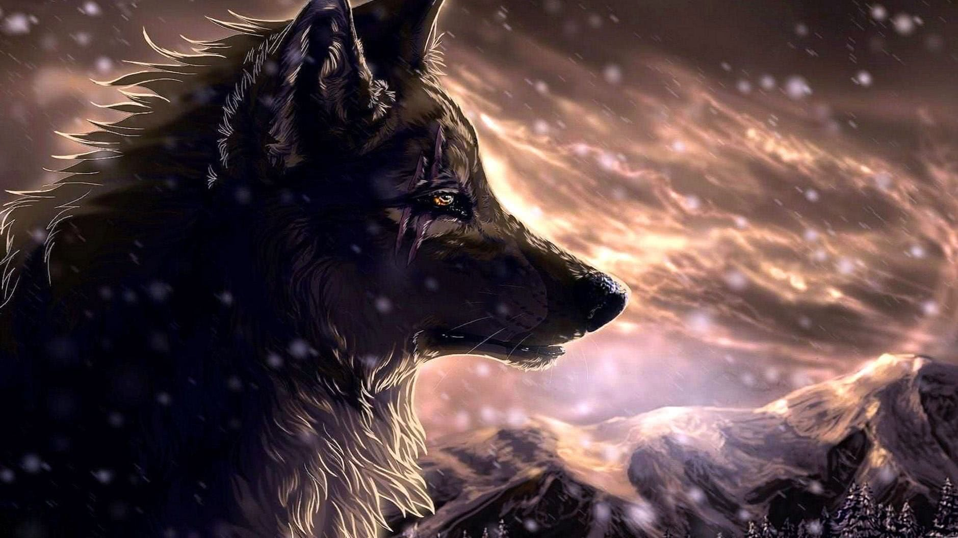 Anime Wolf Wallpapers Full HD