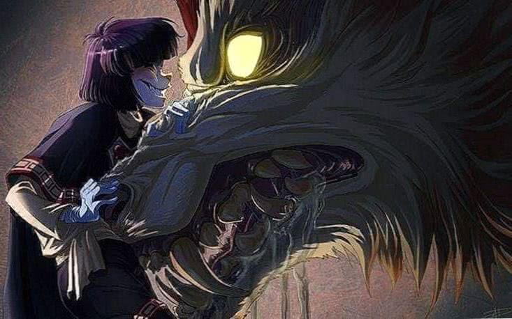 Anime Wolf 3D Wallpaper