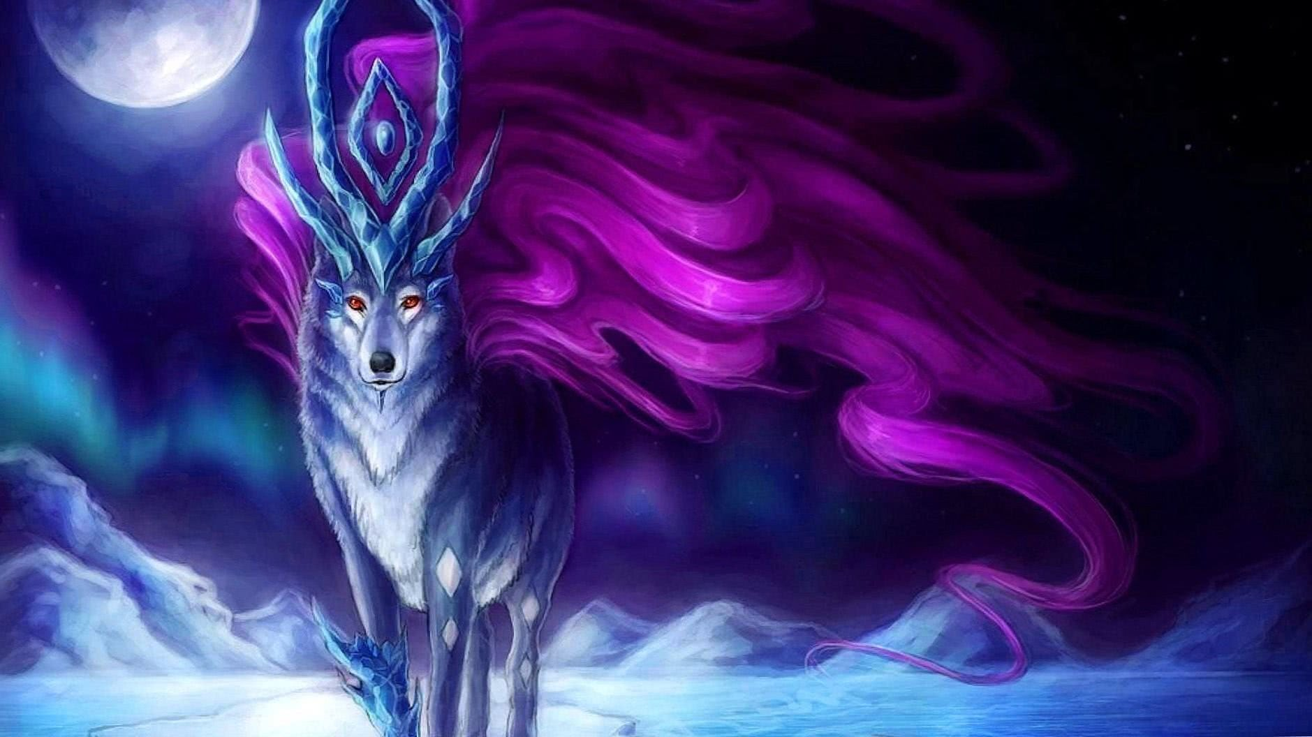 Awesome Anime Wolves Wallpapers Wolf Wallpaperspro