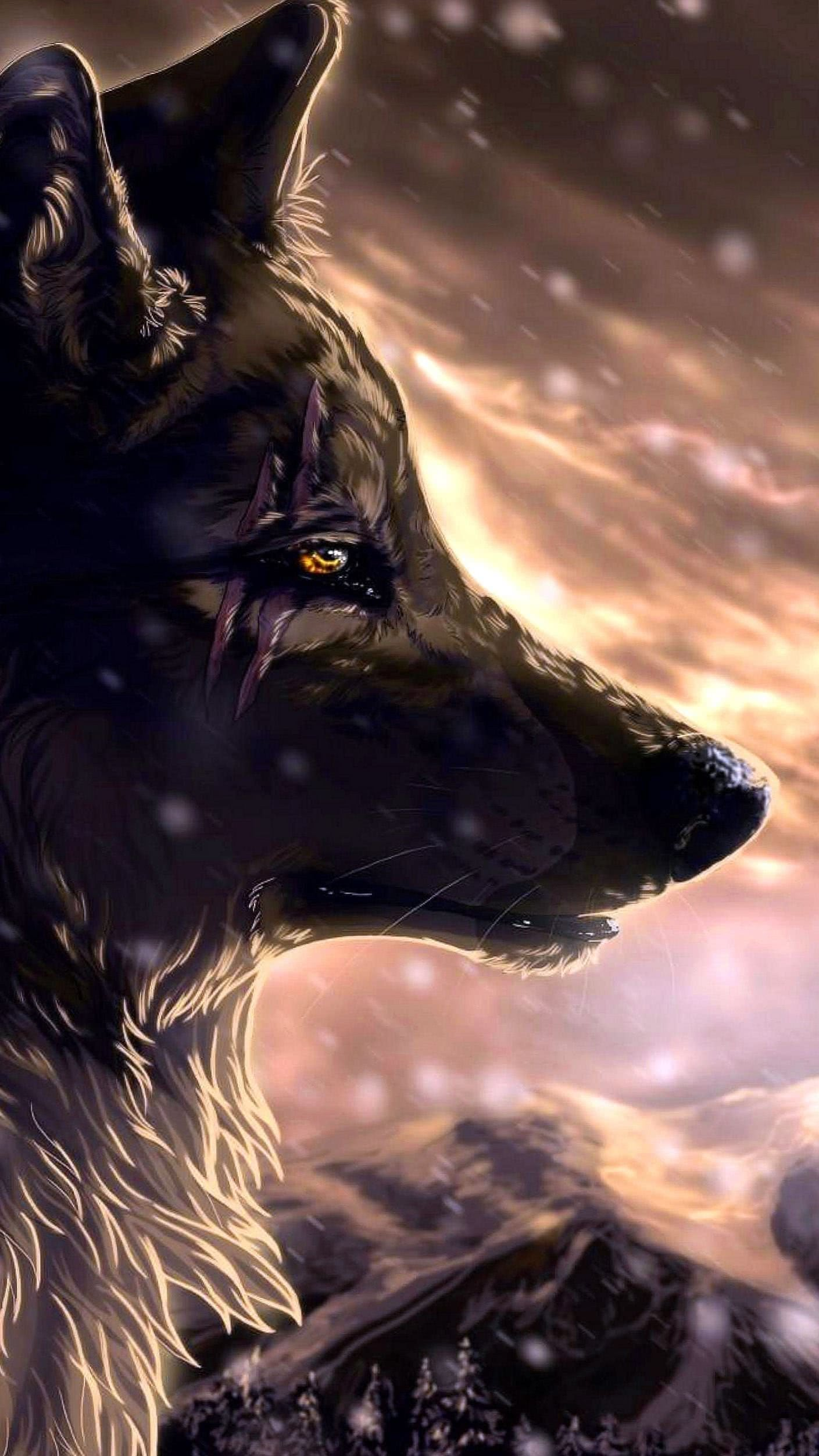 Wolf Animated HD Wallpaper