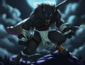 Werewolf Anime Wallpapers