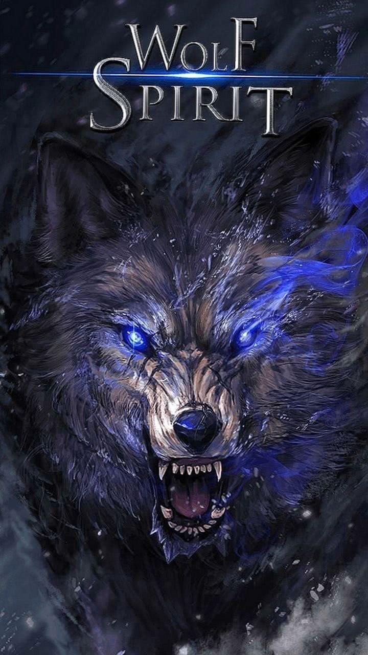 Spirit Wolf Wallpaper