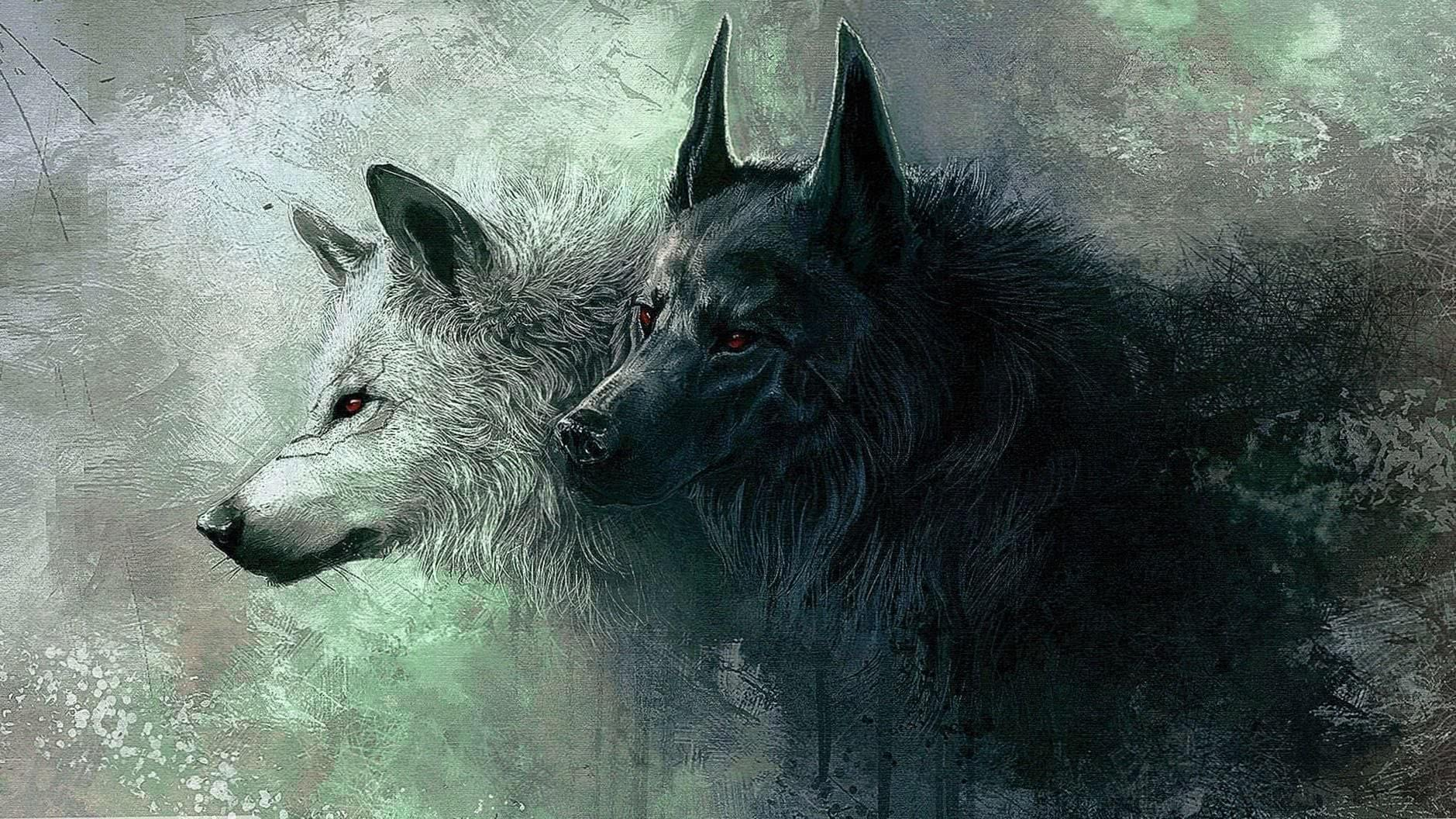 Wallpaper HD PC Wolf