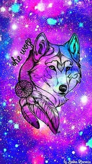 Free Galaxy Wolf Iphone Wallpapers Wolf Wallpapers Pro