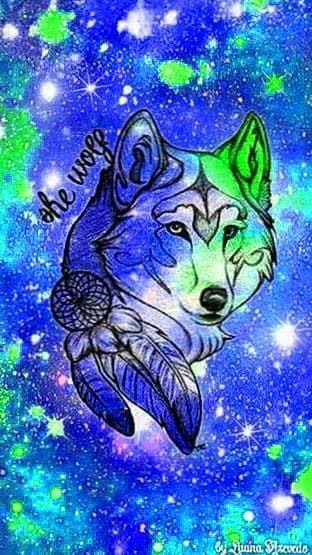 Wallpapers Of Galaxy Wolf