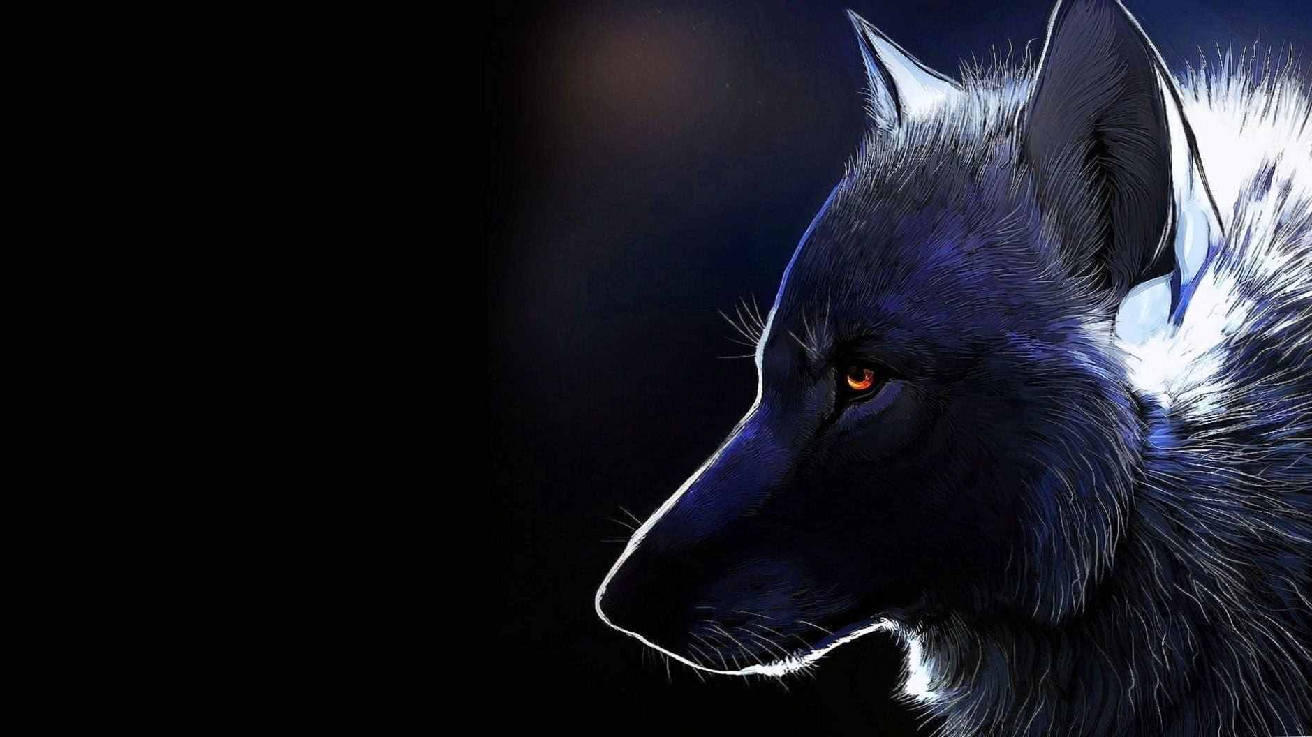 Cool Black Wolf Wallpapers HD