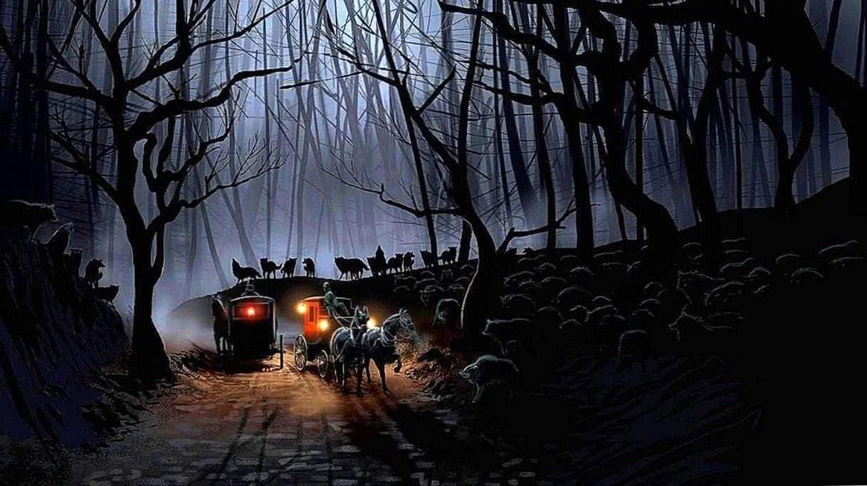 Dark Night Wolf Wallpapers