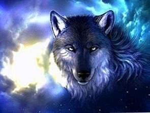 Cool Wolf Wallpapers Light