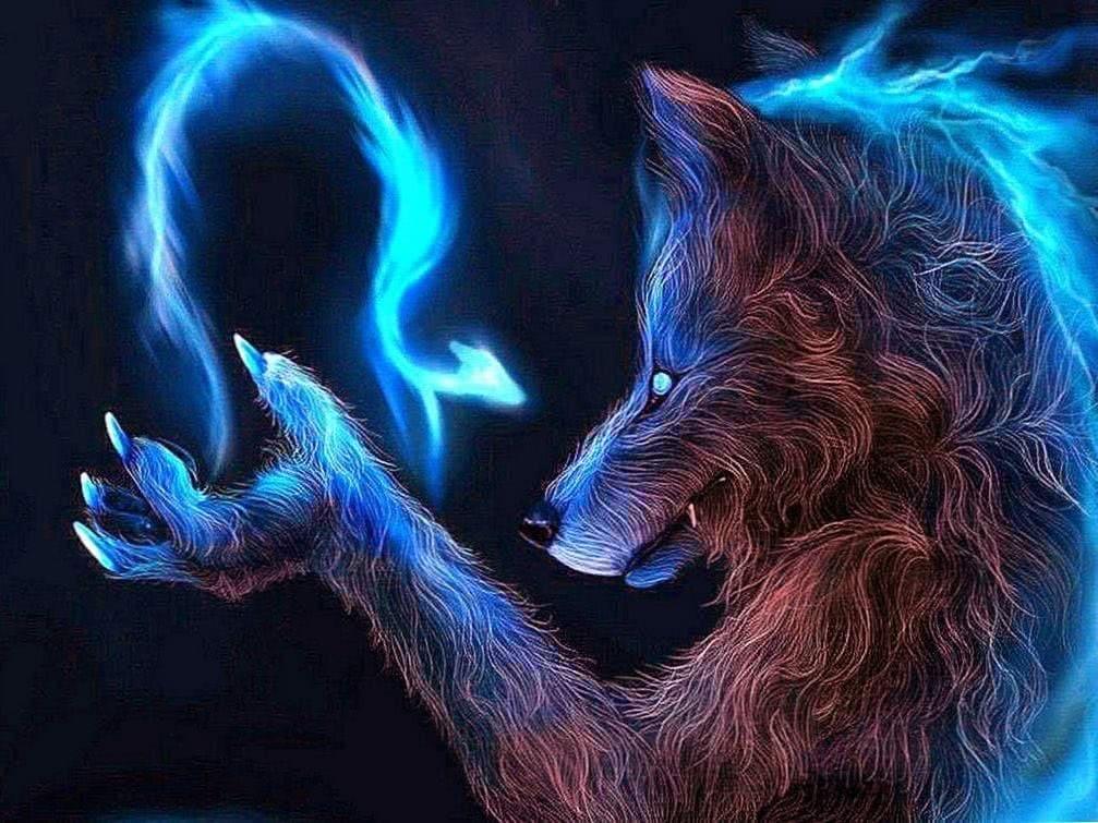 Super Cool Wolf Wallpaper