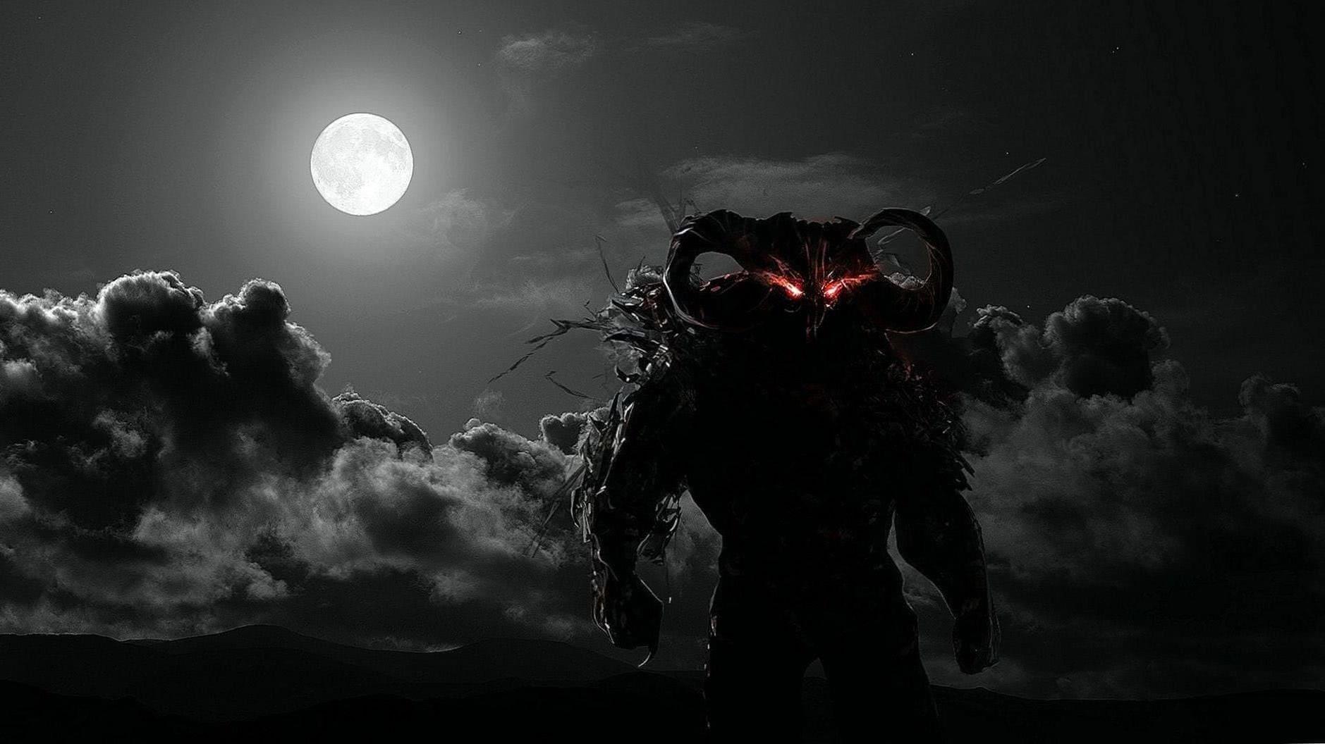Demon Wolf HD Wallpaper