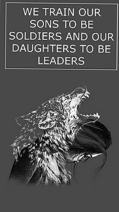 Wolf Quotes iPhone Wallpapers