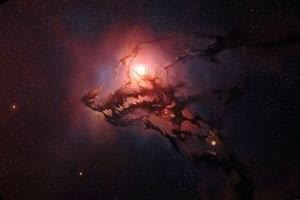 Universe Wolf Wallpapers