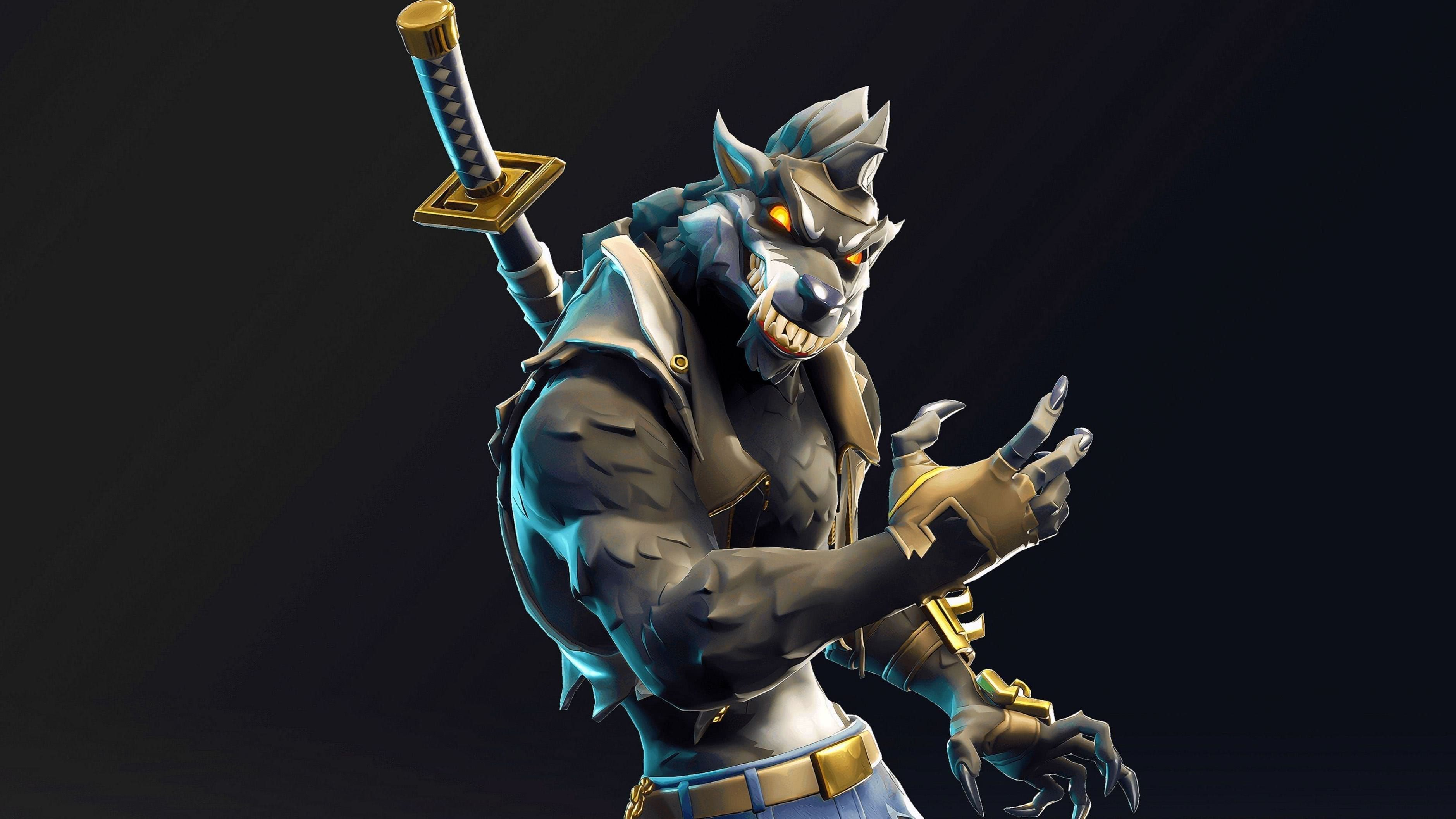 Fortnite Wallpapers Season 6 Wolf