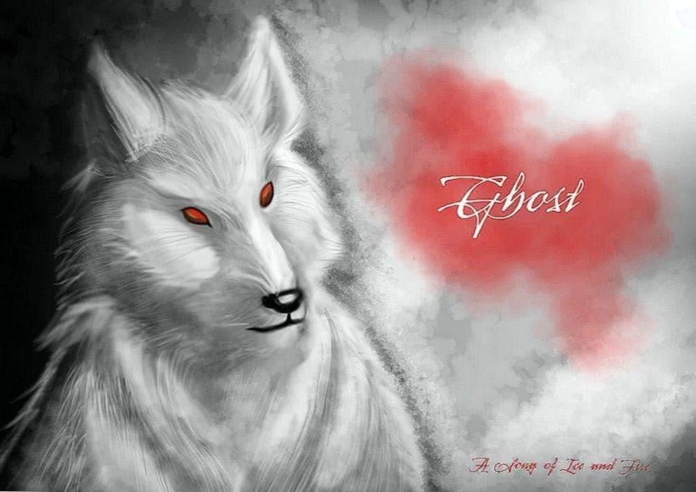 Ghost Direwolf Wallpaper