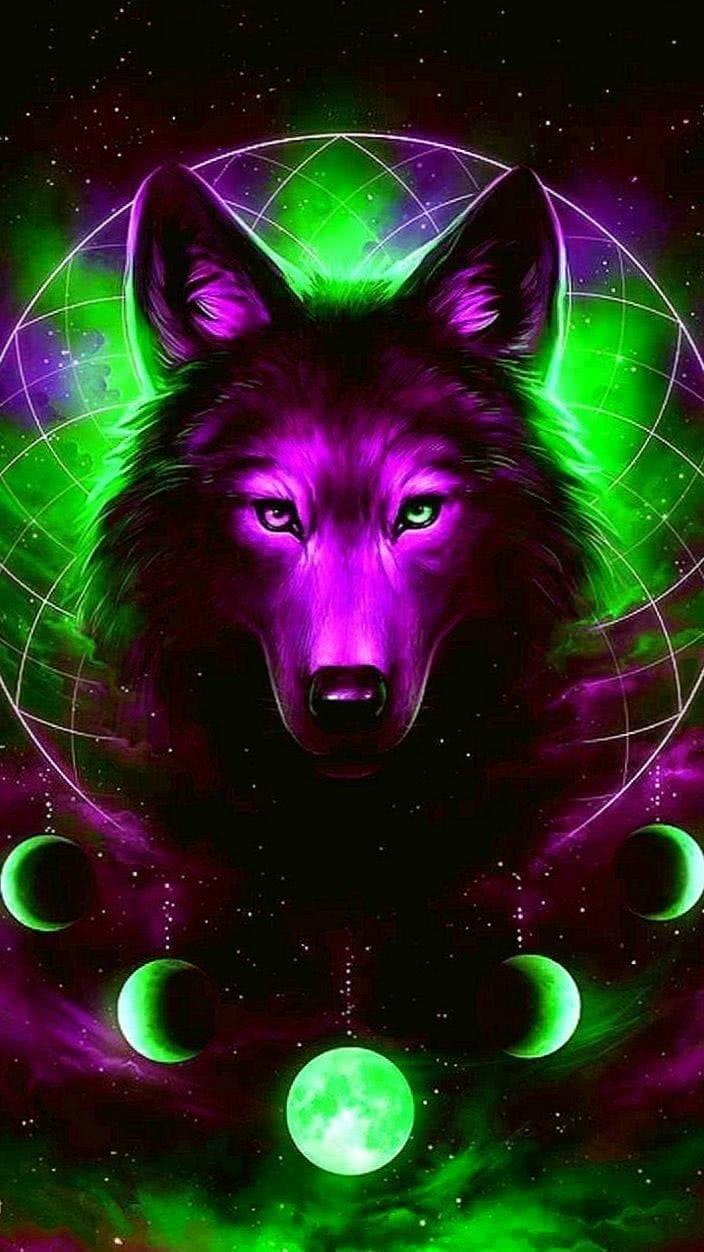 Galaxy Tab Wallpaper Wolf