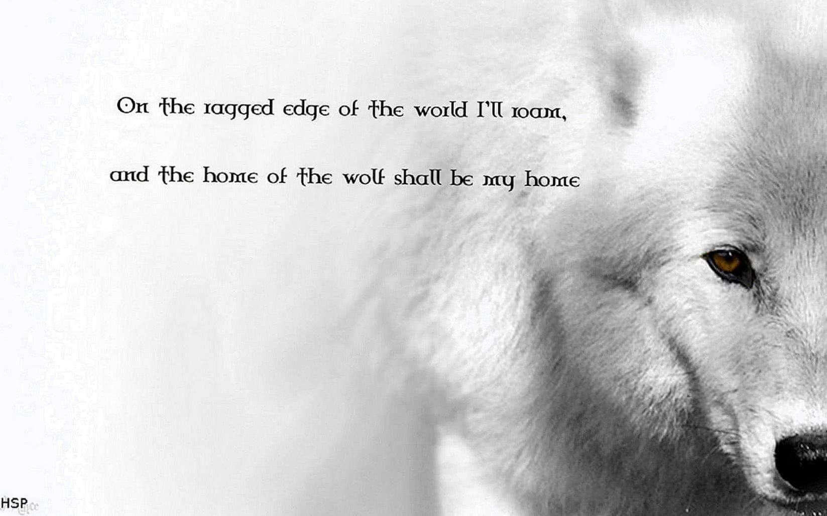 Wolf Sayings Wallpaper