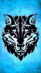 Wolf Logo iPhone Wallpapers