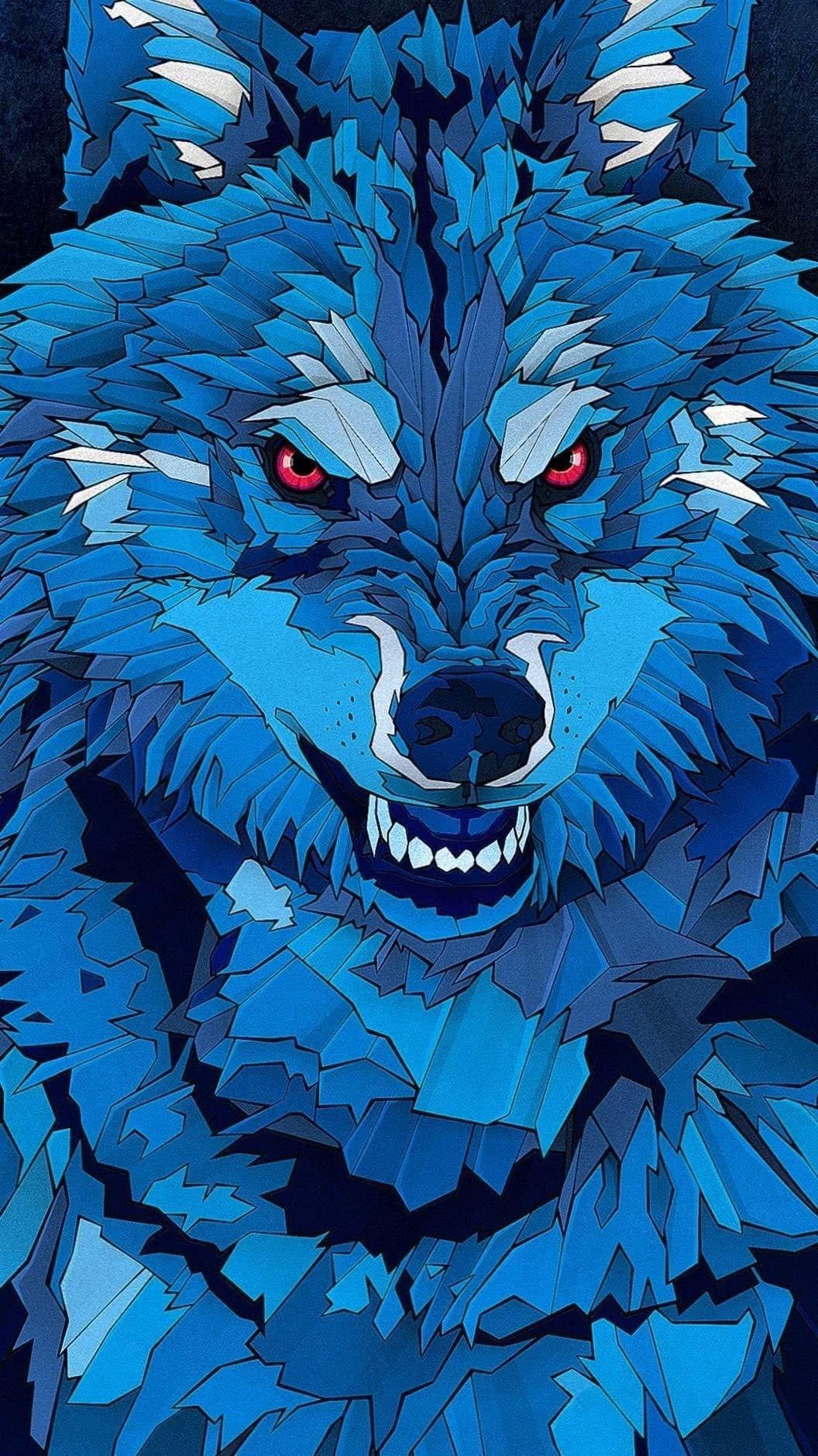 Wallpaper Handy Wolf