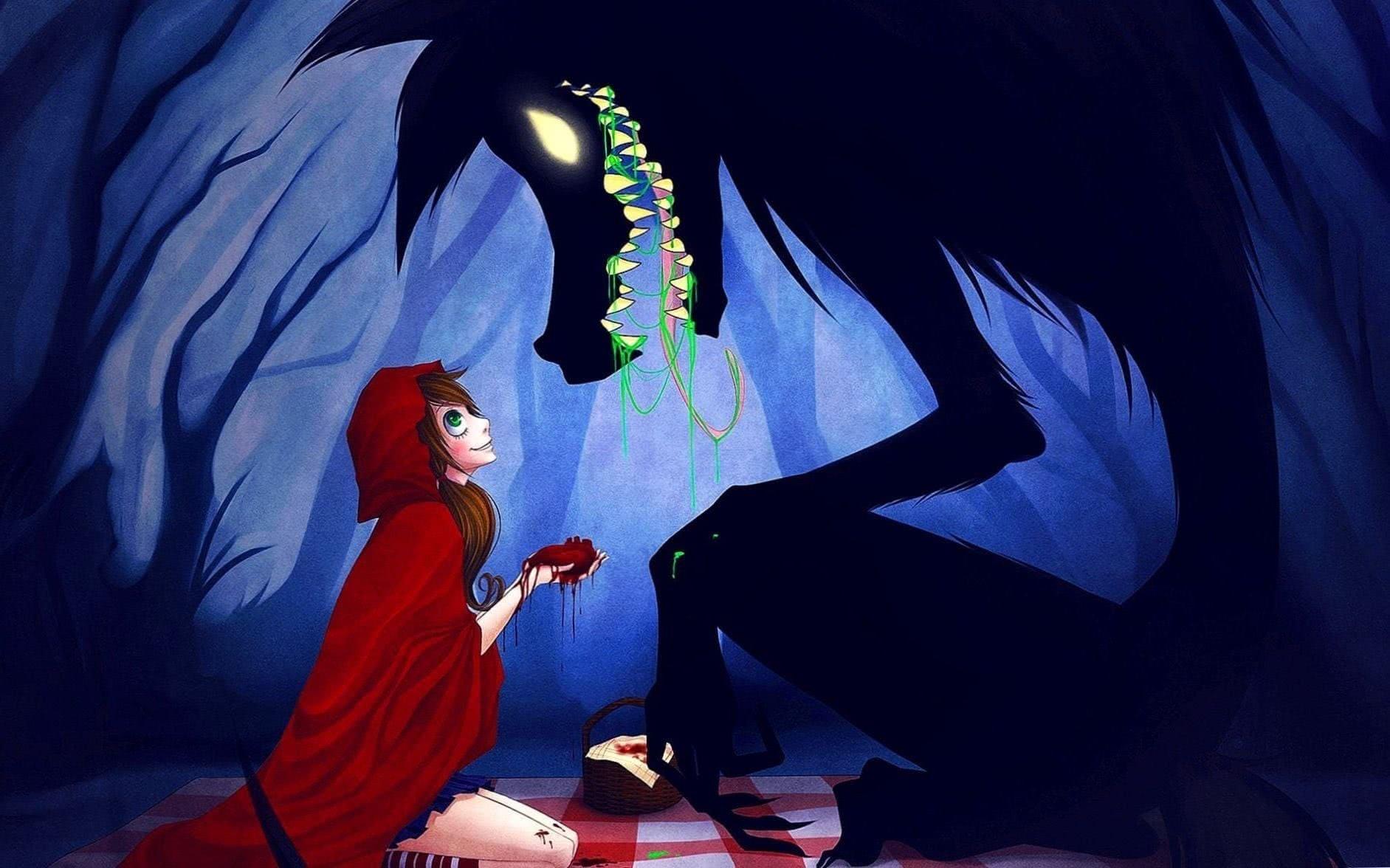Big Bad Wolf Wallpaper Fairytale