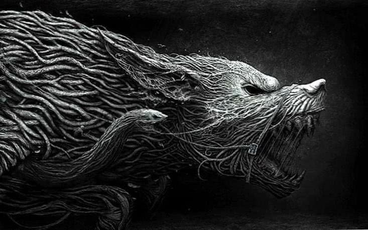 Horror Wolf Wallpapers HD