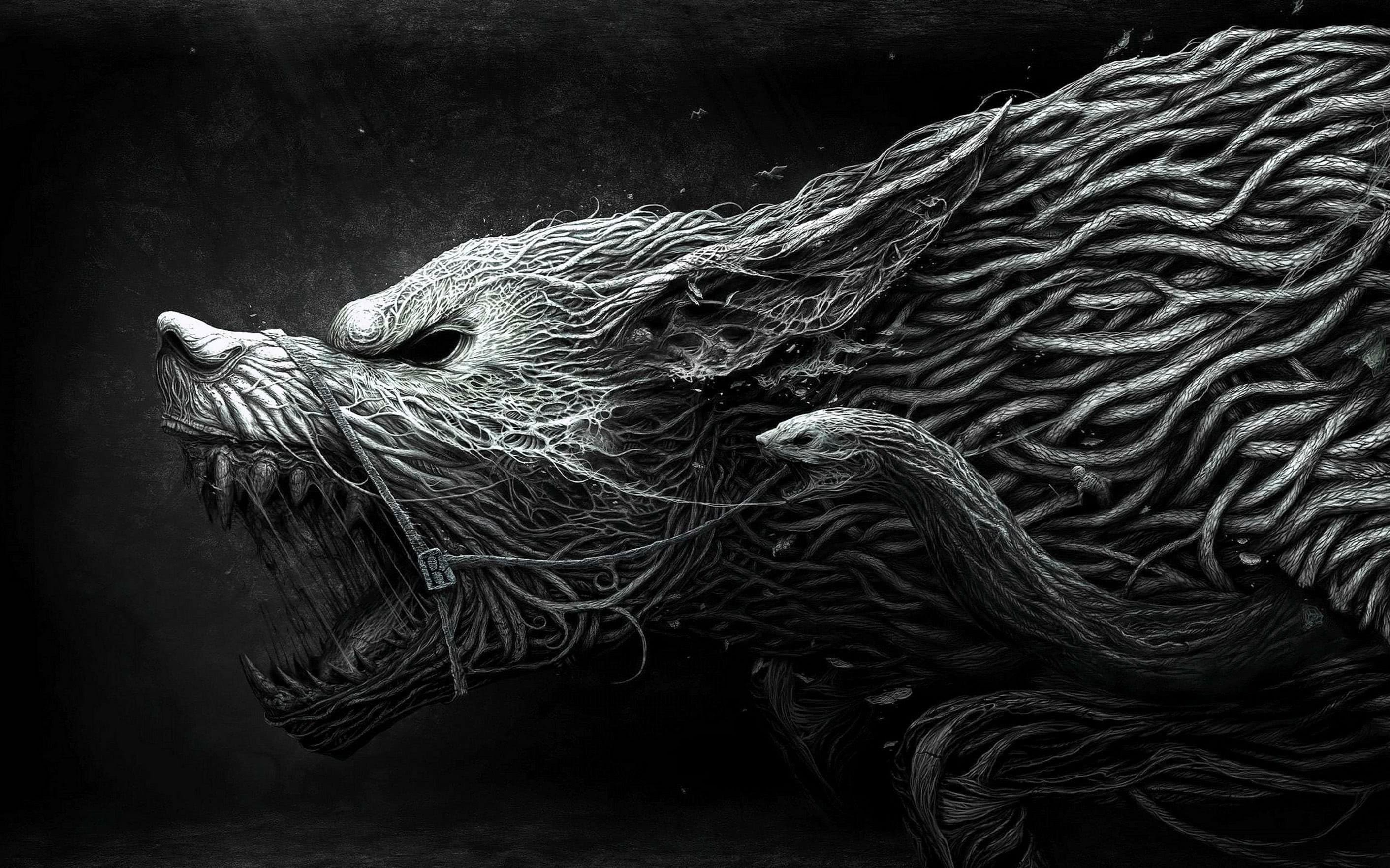 Fantasy Wolf Wallpaper For Phone