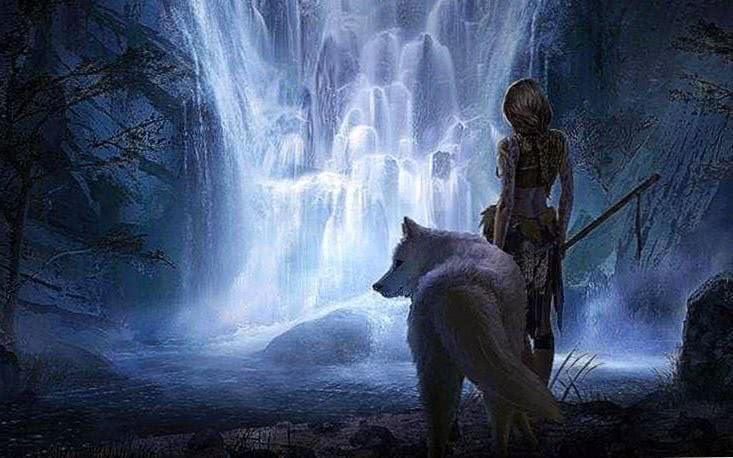 Fantasy Wolf Wallpaper Mobile