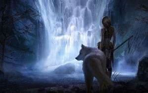 Wolf Wallpapers Woman