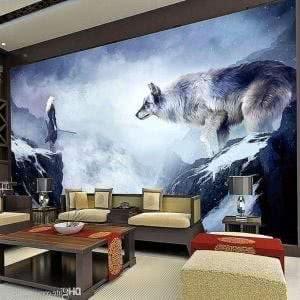 Wolf Wallpapers Bedroom