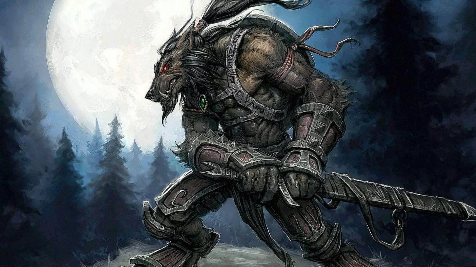 War Wolf Wallpaper