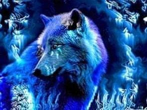 Fantasy Ice Wolf Wallpapers