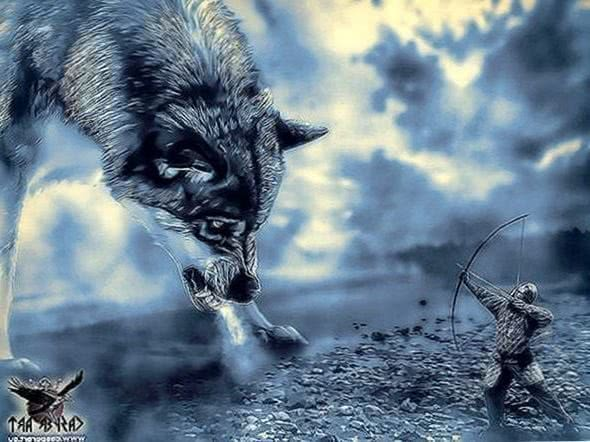 Viking Wolf Wallpapers