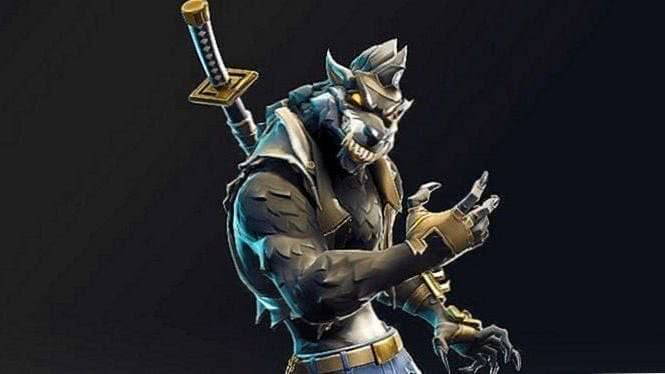 Fortnite Wallpapers Dire Wolf