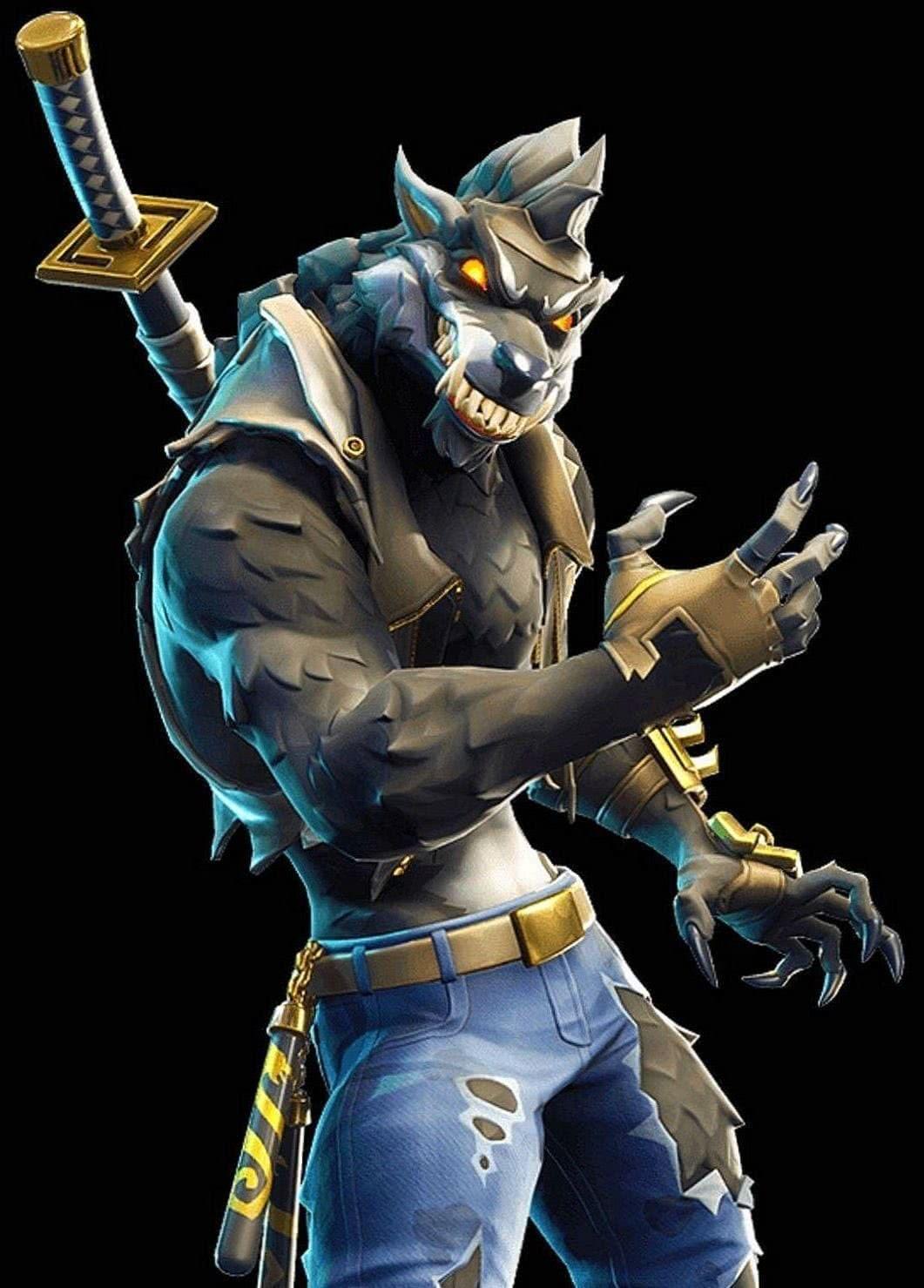 Fortnite Wallpaper Werewolf