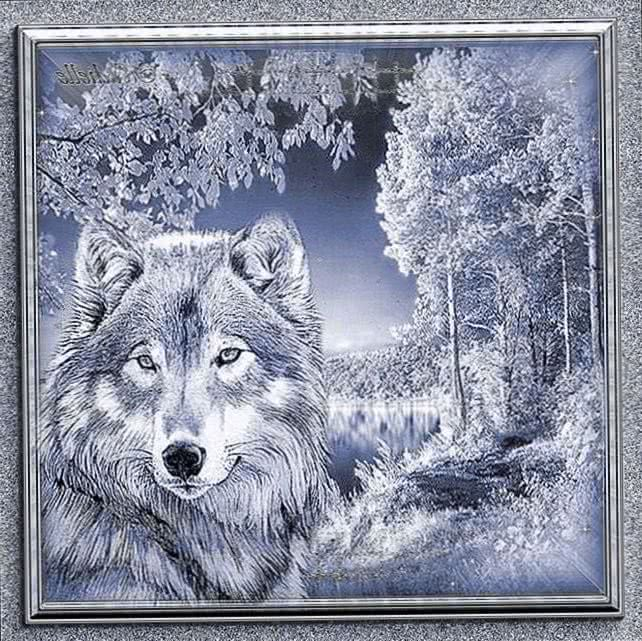 Wolf Wallpapers Glitter