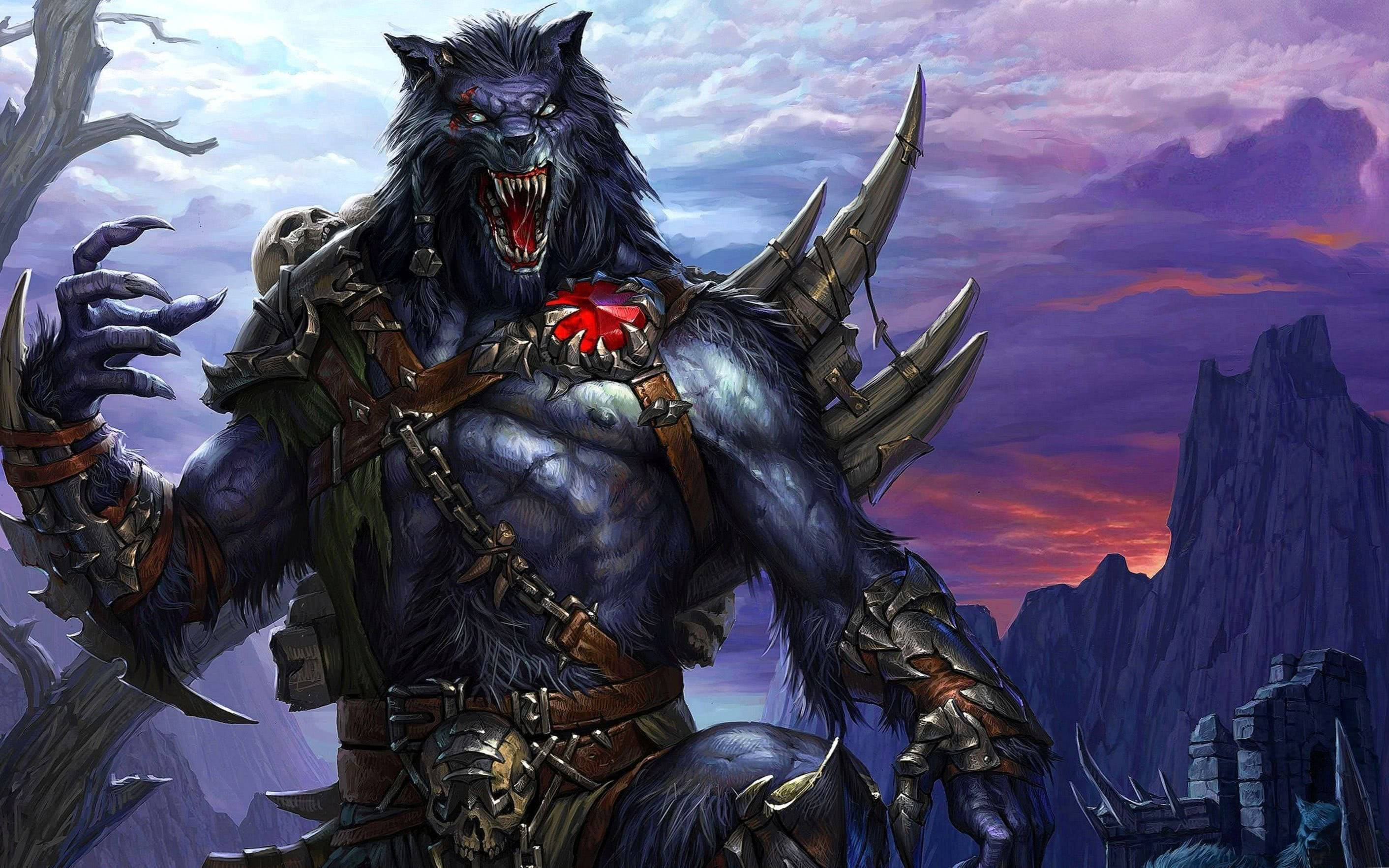 HD Werewolf Wallpaper