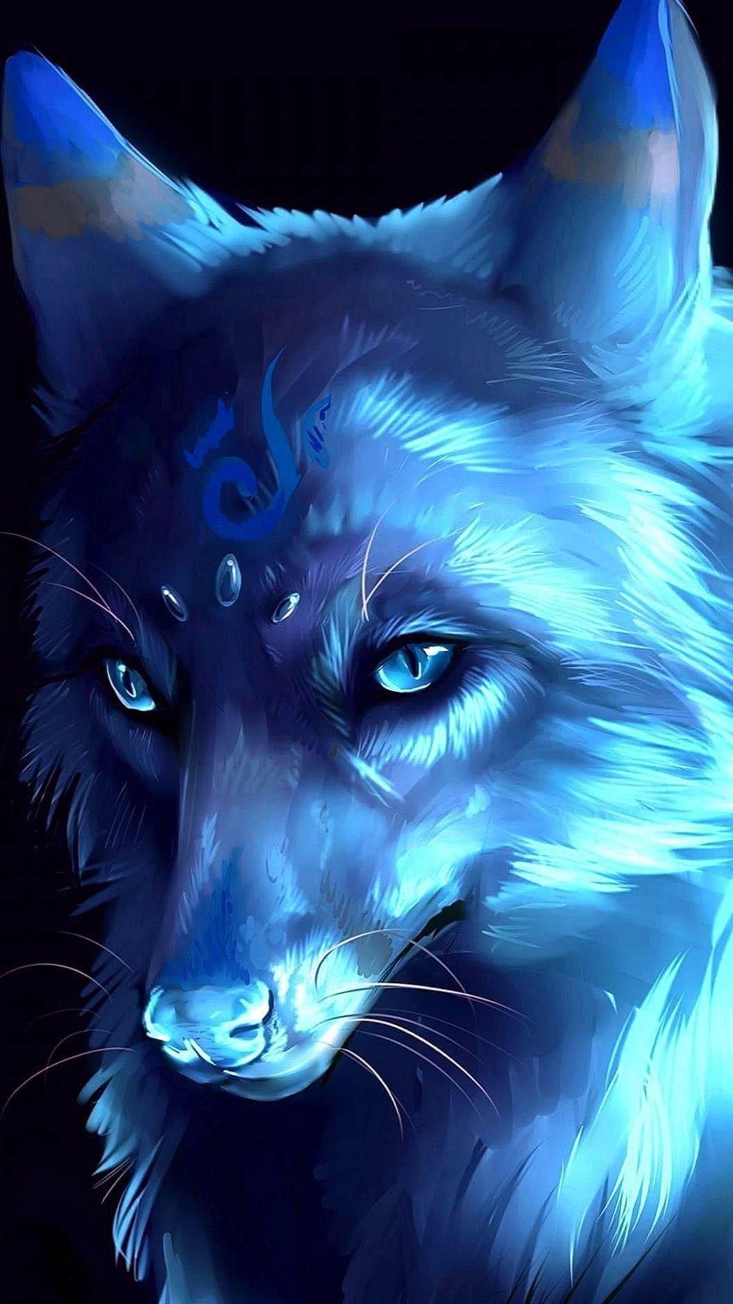 Phone Wallpapers Anime Wolf