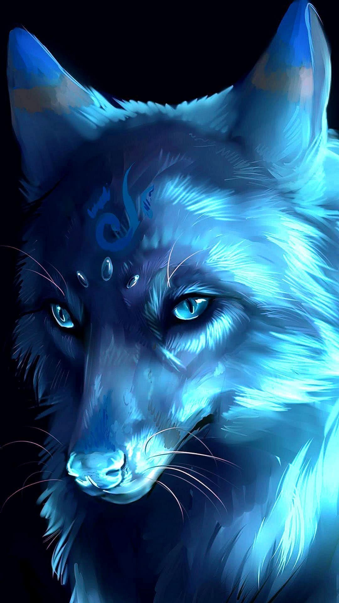galaxy wolf wallpapers wolf wallpapers.pro 17