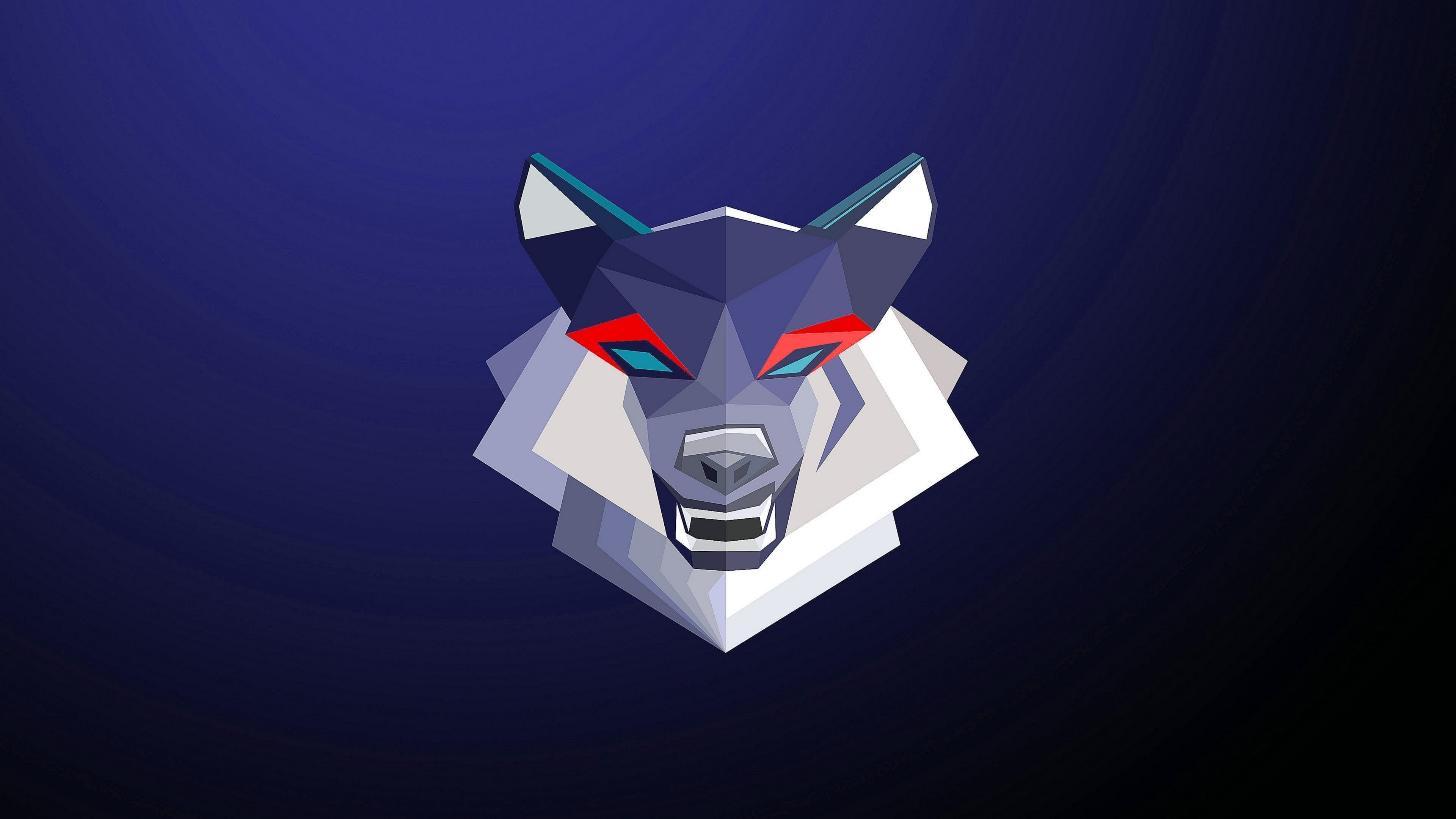 Gaming Wolf Wallpapers 4K